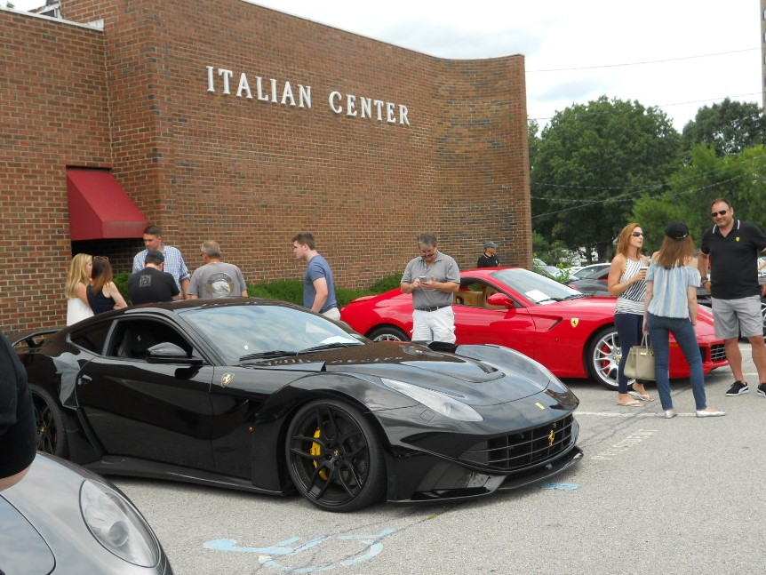 ... Support Of The Sponsors: Wide World Ferrari Of Spring Valley, NY Who  Came With Two New Ferrari For Display (a GTC4 Lusso And California), Deu0027s  Jewelers ...