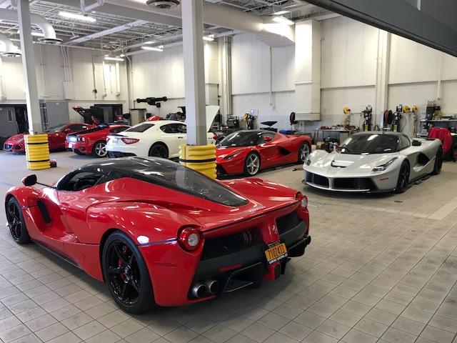 Esr Tech Day At Wide World Ferrari 4 28 2018 Empire State Region Ferrari Club Of America